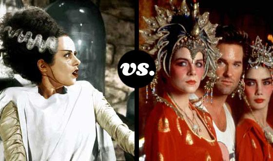 Horror Brides Tourney, Round Two: <em>Bride of Frankenstein</em> (No. 1) vs. <em>Big Trouble in Little China</em> (No. 8)