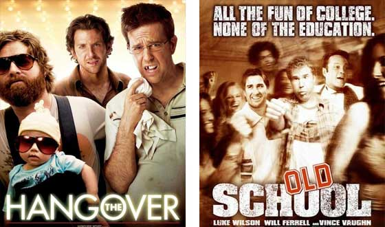 Now or Then &#8211; <i>The Hangover</i> or <i>Old School</i>?