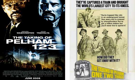 Now or Then &#8211; <i>The Taking of Pelham 1 2 3</i> (2009) or <i>The Taking of Pelham One Two Three</i> (1974)?