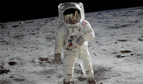 40 Years On, Buzz Aldrin Addresses Mankind's Giant Leap