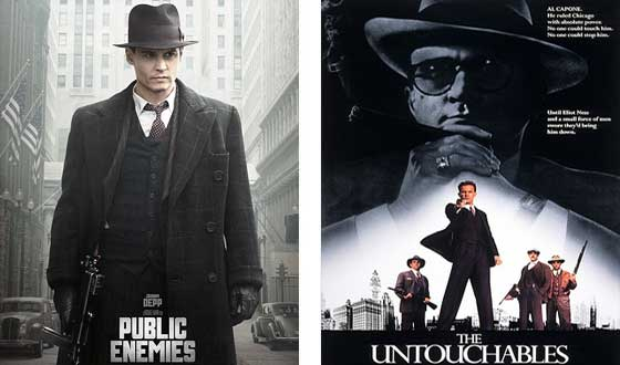 Now or Then &#8211; <i>Public Enemies</i> or <i>The Untouchables</i>?
