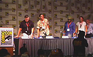 Exclusive Video &#8211; Highlights From <em>The Prisoner</em> Panel at Comic-Con