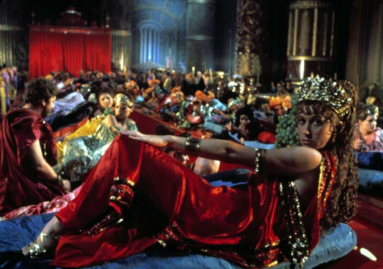 Sex in Movies That Challenged the Ratings 7 - Caligula (1979): Hollywood's first sexploitation epic
