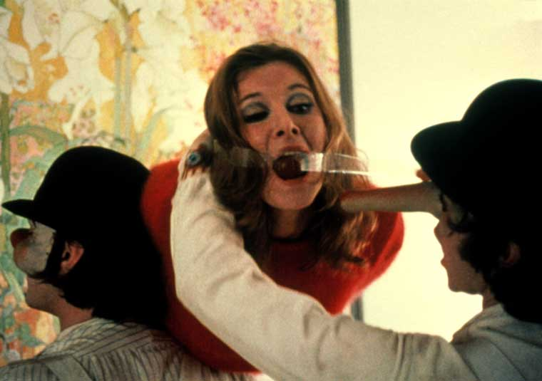 Sex in Movies That Challenged the Ratings 6 - A Clockwork Orange (1971): X-rated Oscar Nominee