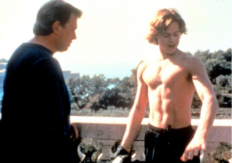 Brad Pitt's Sexiest Shirtless Scenes 2 - 9. The Dark Side of the Sun (1997)
