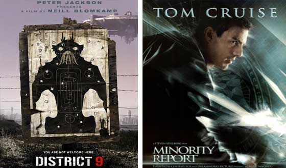 Now or Then &#8211; <i>District 9</i> or <i>Minority Report</i>?