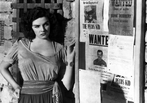 Sex in Movies That Challenged the Ratings 3 - The Outlaw (1943): The Howard Hughes film that challenged the Hays Code