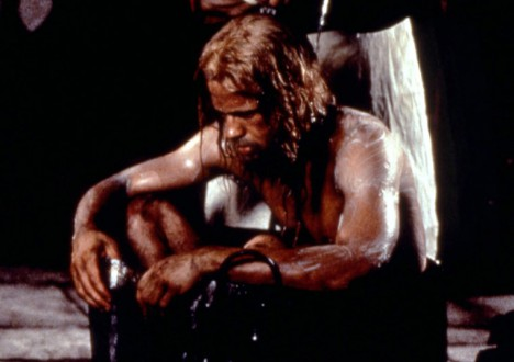 Brad Pitt's Sexiest Shirtless Scenes 3 - 8. Seven Years in Tibet (1997)