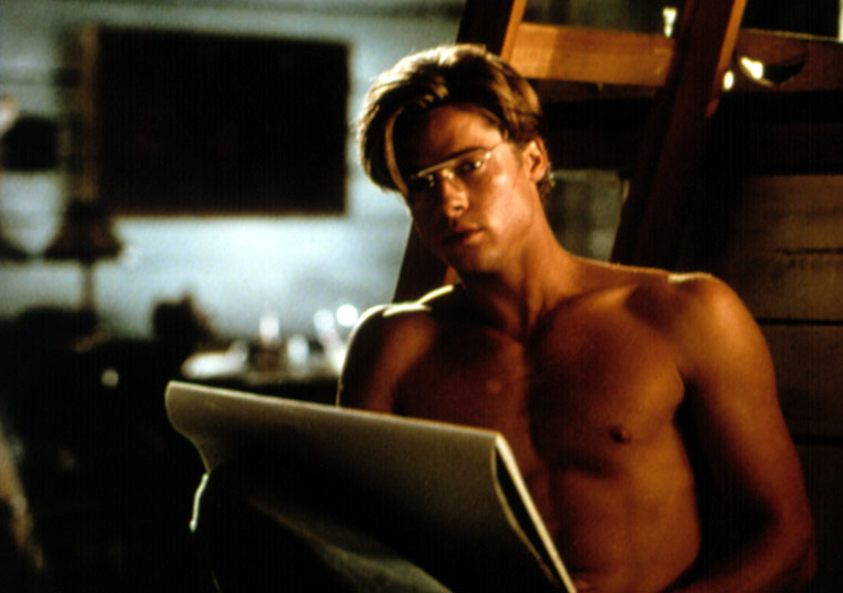 Brad Pitt's Sexiest Shirtless Scenes 4 - 7. The Favor (1994)