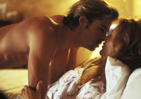 Brad Pitt's Sexiest Shirtless Scenes 6 - 5. Thelma and Louise (1991)