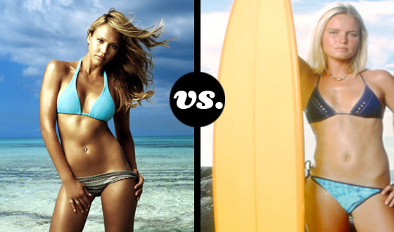 Jessica Alba and Kate Bosworth Cap Off Your Summer With a Beach Babes Throwdown
