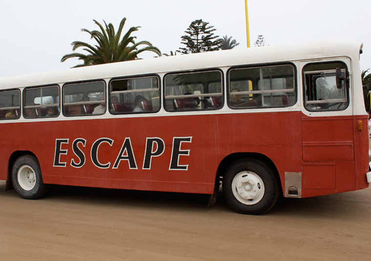 Cars of The Village 8 - The Village Escape Bus