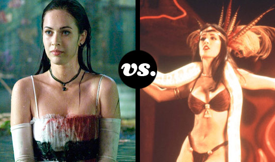 Megan Fox and Salma Hayek Go Beyond Catfight in a Tourney of Sexy Monsters