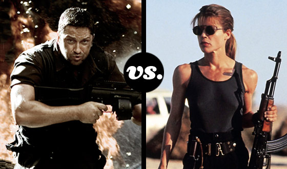 Not on Their Watch! Kable and Sarah Connor Clash in a Futuristic Warriors Tournament