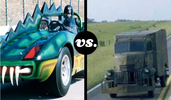 Death on Wheels Tournament &#8211; <em>Death Race 2000</em> (No. 2) vs. <em>Jeepers Creepers</em> (No. 7)