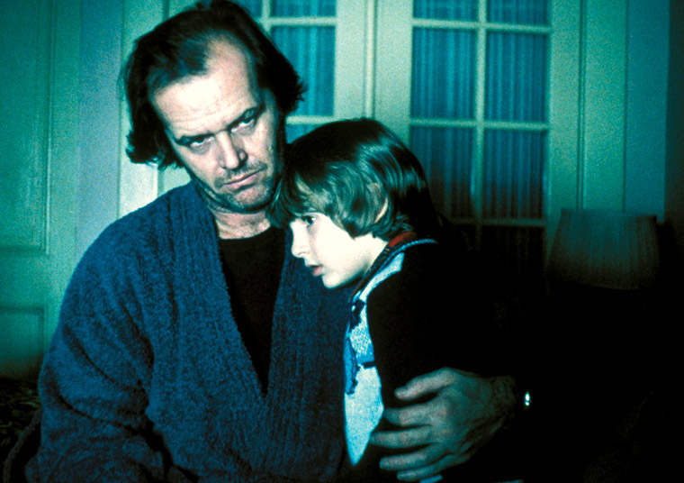 the horrifying character of jack torrance in the film the shining by stephen king