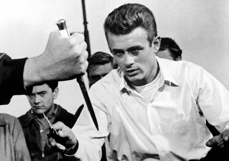 James Dean Photos 4 - 4. The Switchblade