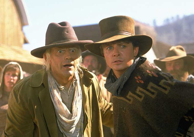 Western Comedies 10 - 9. Back to the Future Part III (1990)