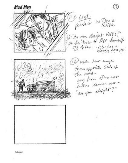 Mad Men Season 2 Storyboards 6 - Mad Men Season 2 Storyboards