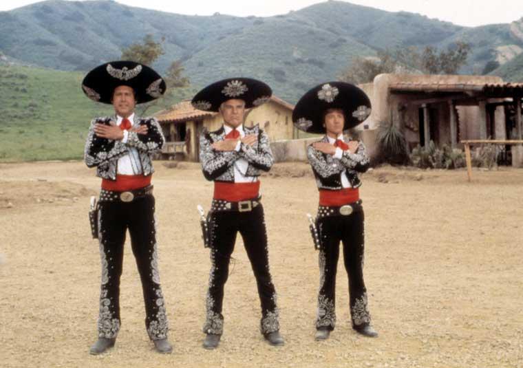 Western Comedies 3 - 2. !Three Amigos¡ (1986)