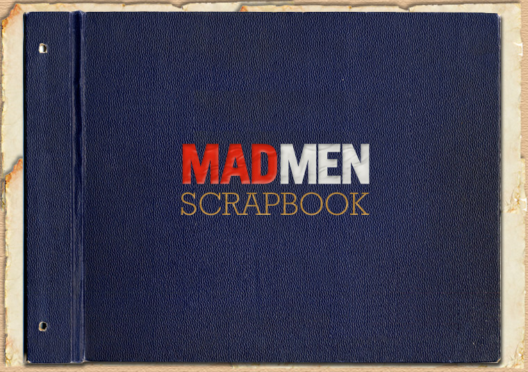 Mad Men Season 2 Scrapbook 1 - Mad Men Season 2 Scrapbook
