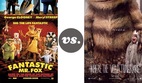 One on One &#8211; <em>Fantastic Mr. Fox</em> Versus <em>Where the Wild Things Are</em>