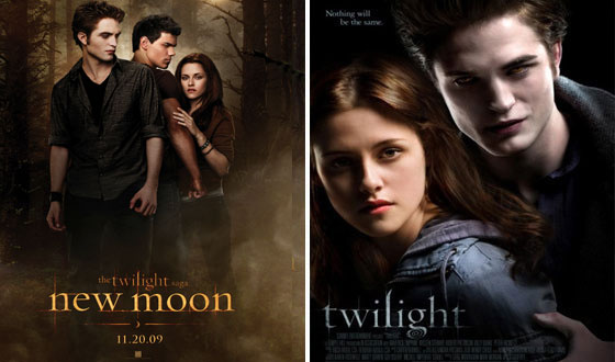 Now or Then &#8211; <em>New Moon</em> or <em>Twilight</em>?