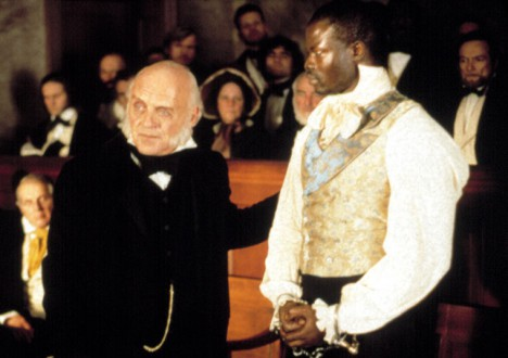 Presidents in the Movies 9 - Anthony Hopkins as John Quincy Adams, Amistad (1997)