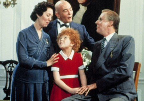 Presidents in the Movies 11 - Edward Herrmann as Franklin D. Roosevelt in Annie (1982)