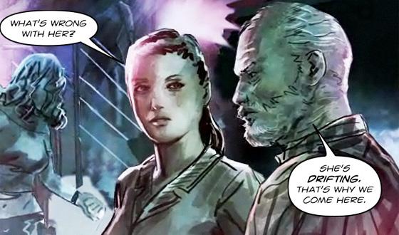 Chapter Four of <em>Prisoner</em> Comic Sets Rebecca Adrift