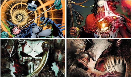 <em>Frankencastle</em> and <em>Doctor Voodoo</em> &#8211; Two Horrific Heroes Helping to Make Comics Creepy