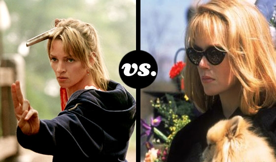 'Til Death, Indeed!  Uma Thurman Takes On Nicole Kidman in a Vengeful Wives Tourney