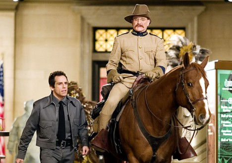 Presidents in the Movies 5 - Robin Williams as Theodore Roosevelt, Night at the Museum (2006)