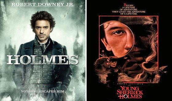 Now or Then &#8211; <em>Sherlock Holmes</em> or <em>Young Sherlock Holmes</em>?