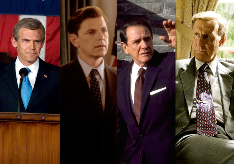 Presidents in the Movies 1 - U.S. Presidents and the Actors Who Play Them