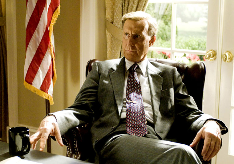 Presidents in the Movies 4 - James Cromwell as George H.W. Bush, W. (2008)