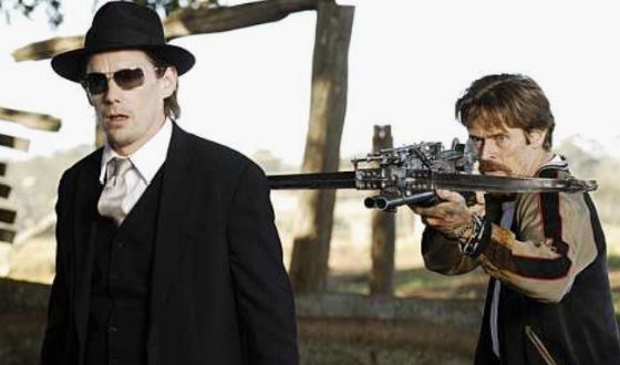 <em>Daybreakers</em> Review &#8211; Corporate Vampires, Disgusting Decapitations and Elvis Presley