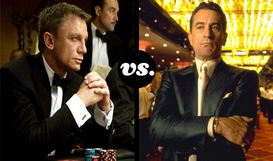 If You Had to Bet, Who&#8217;d Win at Poker? <em>Casino Royale</em>&#8216;s Daniel Craig or <em>Casino</em>&#8216;s Robert De Niro?