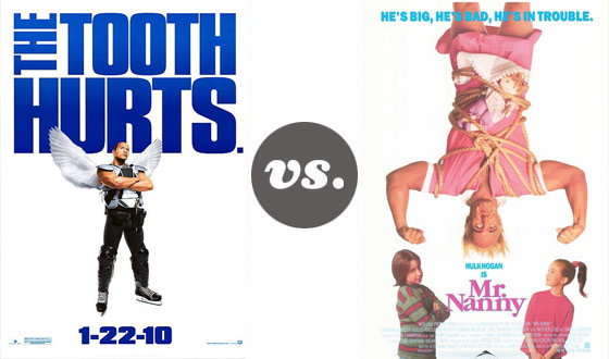 One on One – The Rock Versus Hulk Hogan