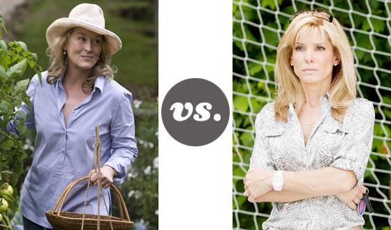 One on One – Meryl Streep Versus Sandra Bullock