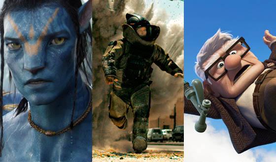 <em>Avatar</em>, <em>The Hurt Locker</em> and <em>Up</em> Lead Oscar Nominations