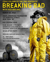 <em>Breaking Bad</em> Screening in NYC Lets Fans Meet the Stars and See Premiere Two Days Early