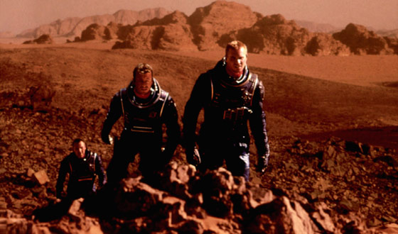 Man Keeps Landing on Mars With Mixed Results (in the Movies)