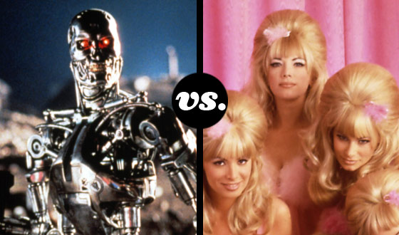Terminators and Fembots Are Programmed to Kill in Movie-Robot Tournament