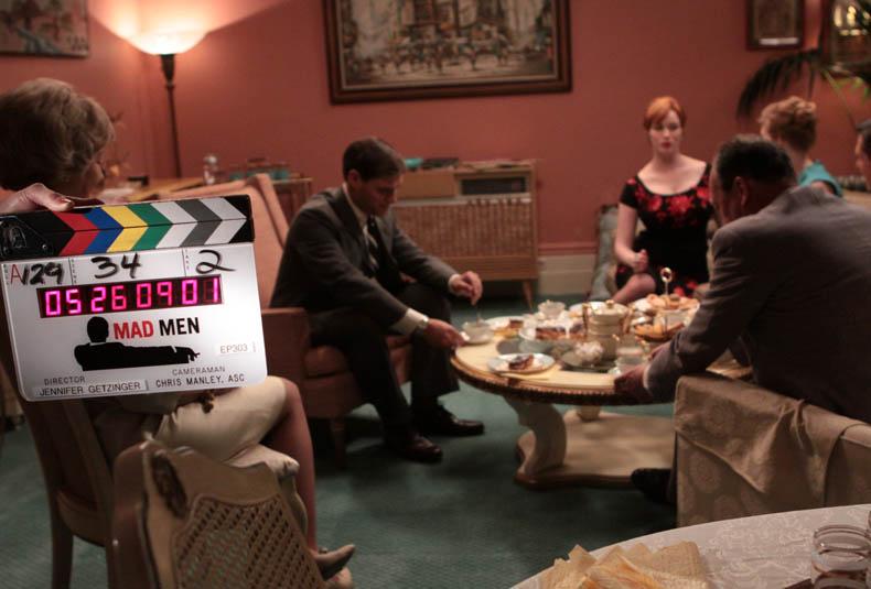 Mad Men Season 3 Behind-the-Scenes Photo Gallery 4 - Mad Men Season 3 Behind the Scenes