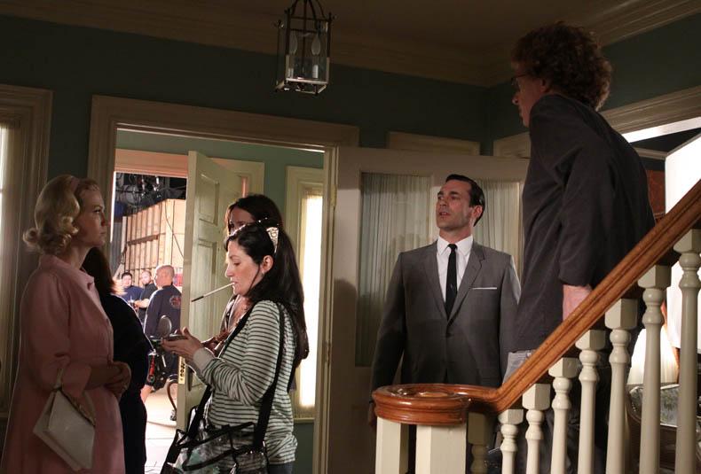 Mad Men Season 3 Behind-the-Scenes Photo Gallery 5 - Mad Men Season 3 Behind the Scenes