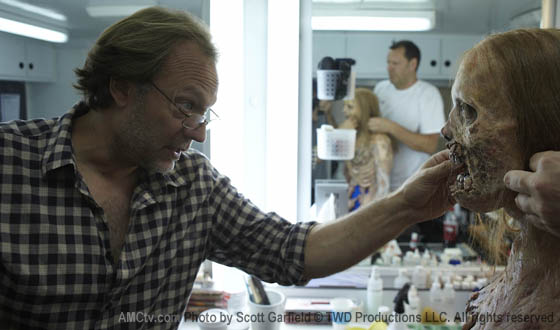 Dispatches From the Set – Special Effects Make-Up Designer Greg Nicotero