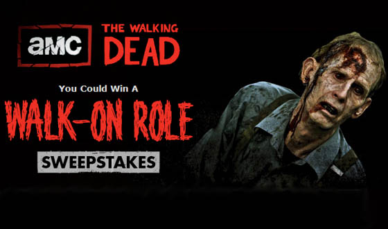 Want to Be a Zombie? Enter AMC&#8217;s <em>The Walking Dead</em> Sweepstakes