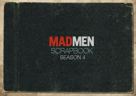 Mad Men Season 4 Scrapbook 1 - Mad Men Season 4 Scrapbook