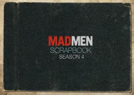 Mad Men Season 4 Scrapbook 1 - Mad Men Season 4 Scrapbook